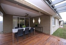 Outdoor living/entertaining / Get that resort living feel with a luxurious outdoor living/alfresco entertaining area. Here's some images to help inspire you to achieve the style you're looking for.