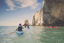 S E A / Adventuring on the high seas; kayaking, fishing, snorkelling, coasteering and everything in between