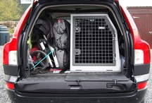 Space Saver Boxes / A selection of Space Saver boxes to transport dogs and luggage/shopping/pushchairs