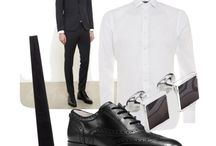 Mens Outfit Ideas – New Years Eve / Whether you're keeping it low key with a dinner date, or going all out to till the small hours every man wants to look look good, and feel sharp.