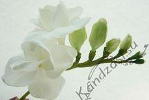 Цветы из фоам