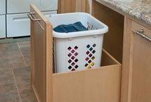 Laundry/craft desk / by Lara Brown