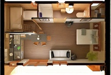 Små transportable huse