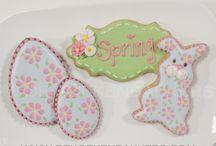 Icing cookies Easter / アイシングクッキーイースター