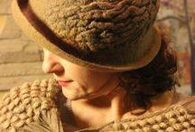 валяные шляпки,шапки