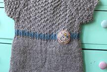 Lille strikket kjole