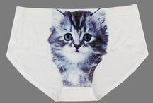 Cat Underwear