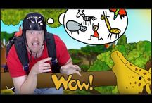 English for kids_wild animals / Educational and entertaining interactive materials for kids presenting wild animals. Watch the stories with Steve and Maggie, have fun and learn at the same time! If you want to see more visit free YouTube channel Wow English TV: https://www.youtube.com/c/WOWENGLISHTV