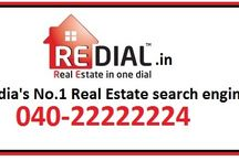redial.in / REDIAL is India's 1st voice based real estate information service.