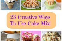 Recipes Cake Mix