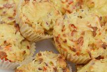 Joke's kitchen / Aardappelcupcakes