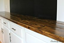 Torched Counter Tops
