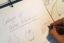 Hector Albertazzi para Chris Francini / Coleção de acessórios elegante, dinâmica e prática em parceria com o designer Hector Albertazzi.