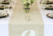 Table Numbers & Seating Cards / Ideas for tables numbers and seating cards so guests can find their seats easily at your event.
