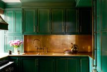 Bejeweled Kitchens / Jewel tones are in this year! Show off your bejeweled kitchens and other rooms in your home: follow this board and you will be invited to pin!