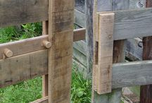 Gate Latch Wooden