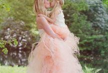 Camellias Tule Skirt