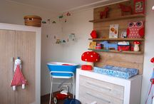 baby/ kids room / Babyrooms with a retro touch.