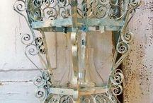 lanterns, sconces and candelabra