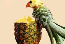 decor com frutas