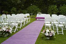 Cásate en el jardín / Get married in the Garden! / Un montaje romántico, en el jardín.