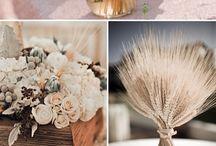 Aranjamente pentru nunti rustice