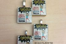The Reading Nook's Book Pendants / I make book pendants, and this is the board where you can check them out! :)
