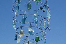 beach glass ideas
