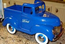 Old pedal cars  / by sheryl stow