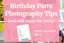 First Birthday Photography / First Birthday Photography inspirational board. Kids birthday pictures, tips for shooting, child poses and props ideas. Cake smash shooting. Styled photography.