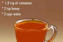 Cinnamon honey weight loss tea