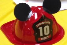 Fire fighter Mickey