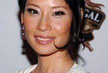 Lucy Liu stunning and so smart!!!