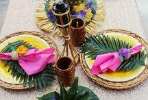 Fiesta tematica hawaiana