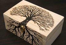 Pyro graphics / Wood burning / by Max Reid