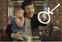 sherlock, memes and johnlock