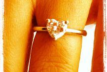 Heart Solitaire Diamond Ring / Diamond