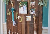 Mint Baby shower themes