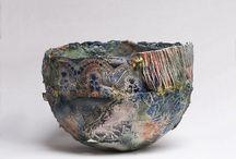 Keramiek schalen en vazen / Kleurrijke keramiek