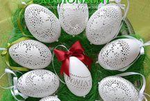 wielkanoc - Easter / Pisanki z Polski - autor Bogusława Justyna Goleń Poniatowa Polska
