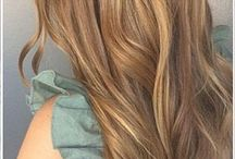 goldenbrown hair
