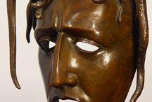 Art classique et moderne inspiré de masques