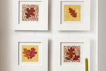 Fall decor/projects / by Karen Howard