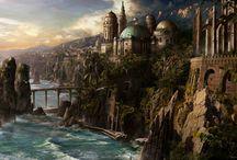 miasta fantasy