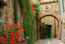 Toscana - inspirartion før ferie