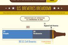 Craft beer infographics