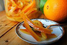 Scorrette arancia candita