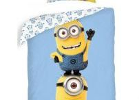 Minions Bedroom Stuff / Great Minions bedroom and playroom décor, as well as other cute minion products we love!  #Minions