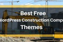 Free construction WordPress Themes