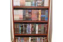 Estantes / Estantes para VHS, DVD, CD y Libros